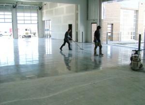 Broušení anhydritové podlahy